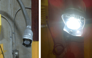 LED Versa lights are able to withstand impact and remain operational