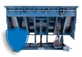 dock leveler protected