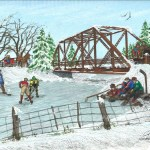 Northern Flyer Designs Country Side Pond Hockey At The Bridge