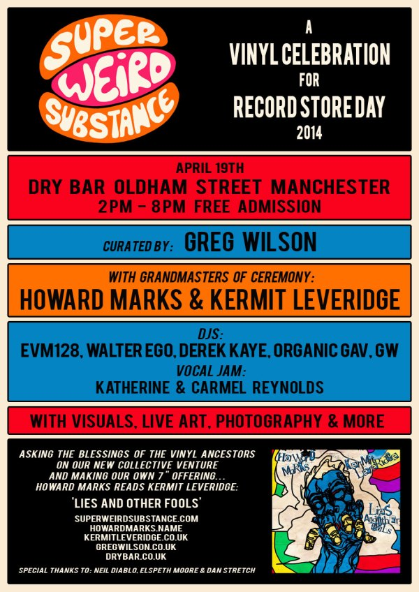 Super Weird Substance Record Store Day Poster 920