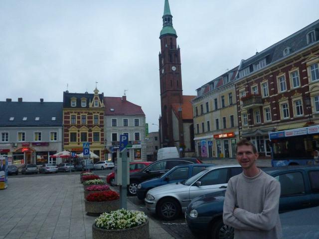 Backpacking in Starogard Gdanski - Rynek
