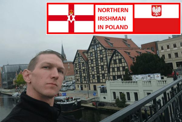 NI Man in Poland Bydgoszcz