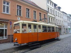 A tram in Bydgoszcz