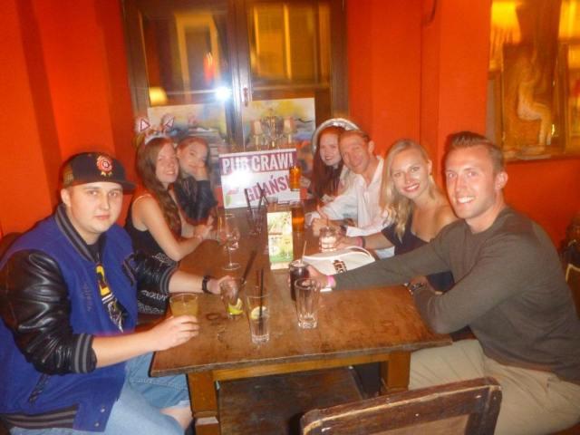 Piątkowe Picie: A Night Out With Pub Crawl Gdańsk