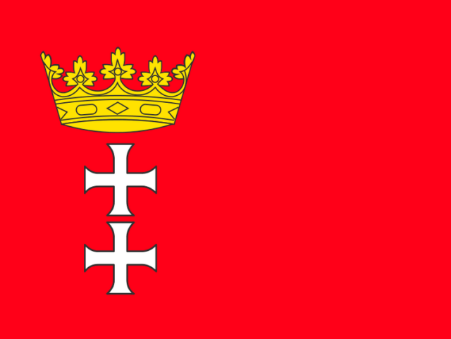 Gdansk Flag - modern day!