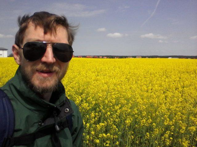 Tourist in Kokoszkowy: Jonny Blair, Northern Irishman in Poland