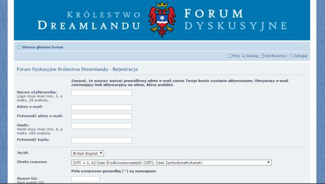 Krolestwo Dreamlandu Forum