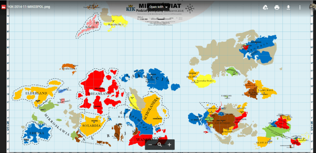Micronations World Map