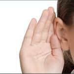 Girl listening
