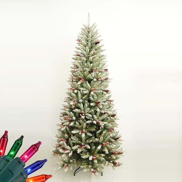 Tree Ribbon Colors Colored Christmas Multi Light