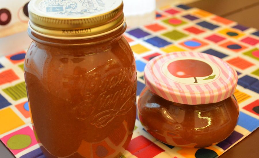 Harvest Time: Apple Butter Cooking