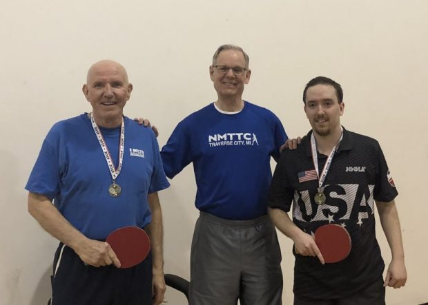 1st Place Doubles: Mike Ward and Drew Davis