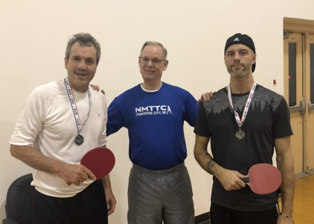 2nd Place Doubles: Rick Carmean and Luke Fowler