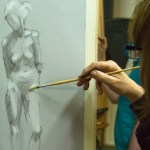 Life Drawing, Manchester. Northern Realist