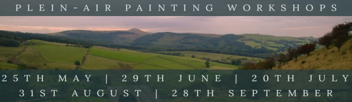 Plein-Air Painting workshops for summer 2018, link to webpage