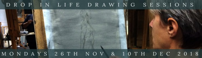 Link to Northern Realist Open Life Drawing Sessions page