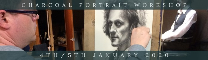 Link to Northern Realist Charcoal Portrait Workshop, January 2020 webpage