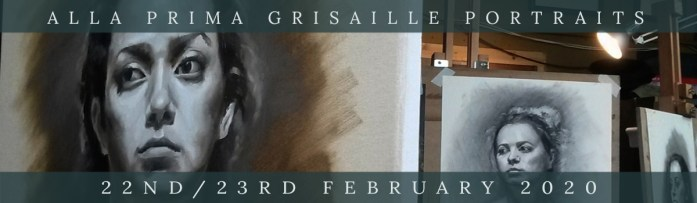 Link to Northern Realist Grisaille Alla Prima Workshop February 2020 Webpage