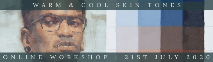 Link to Northern Realist Warm and Cool Skin Tone Mixing online workshop webpage