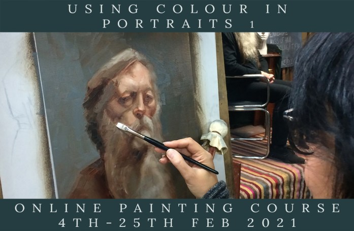 Link to Northern Realist Using Colour in Portraits 1 Course, February 2021 webpage