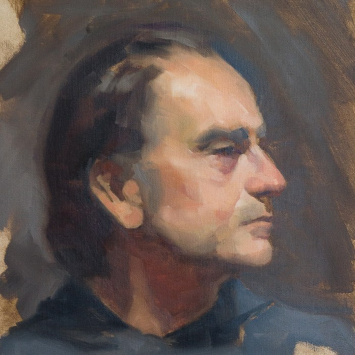 Portrait Study of Kenny by Christopher Clements