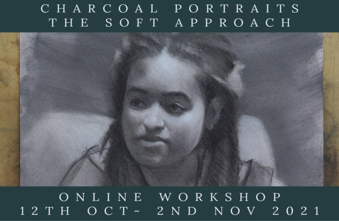 Link to Northern Realist Charcoal Portraits - The Sort Approach Course webpage