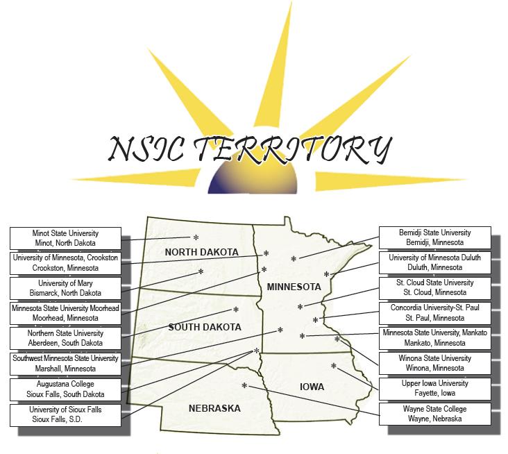 NSIC Territory
