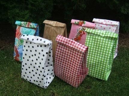 oil cloth bags