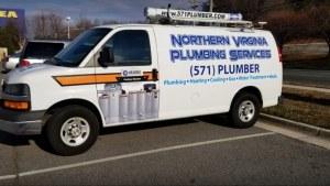 northern VA plumbing services truck banner - northern-VA-plumbing-services-truck-banner
