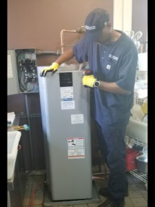 use for the HOME page scrolling slide pictures 2 - Installing Commercial Electric Water Heater