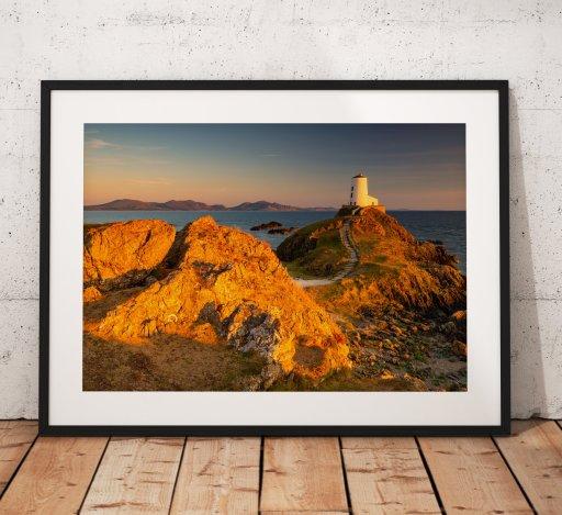 Ynys Llanddwyn Lighthouse North Wales