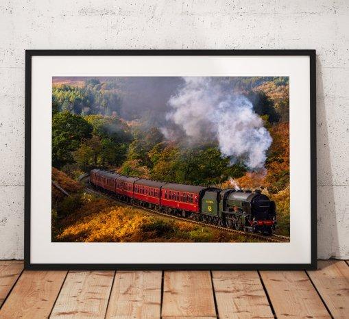 Autumn Steam Train