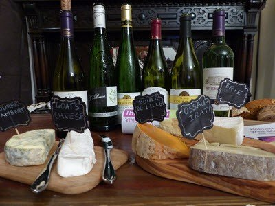 A cheese and Wine Tasting.