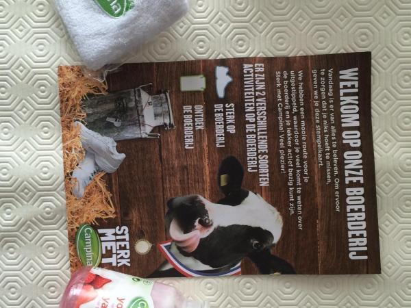 campina yoghurt open boerderijdag