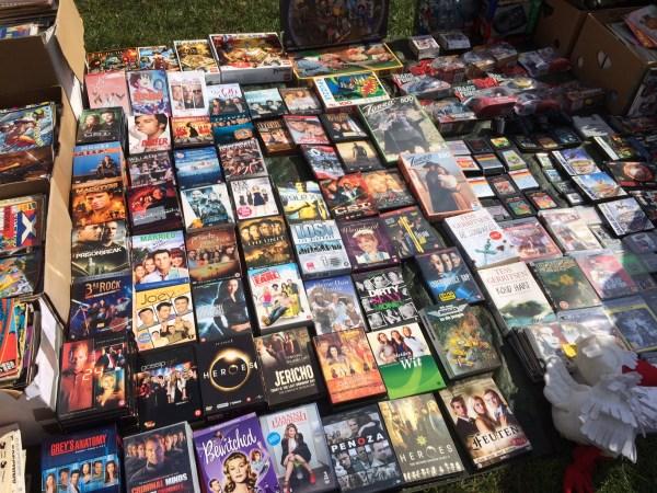 dvd rommelmarkt bakkeveen