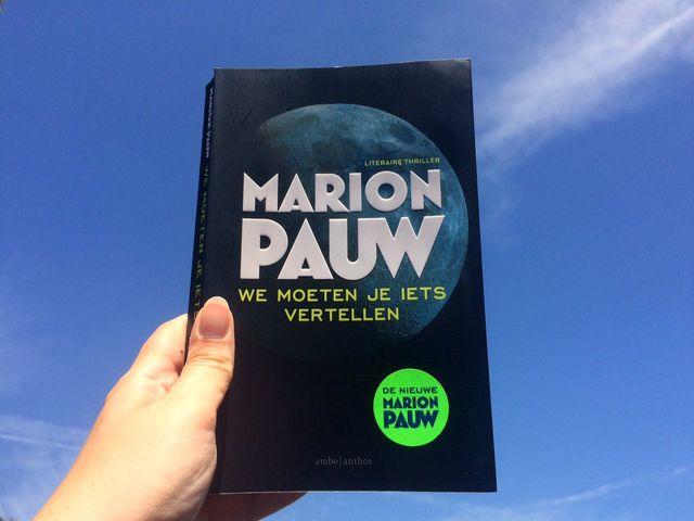 Gelezen: Marion Pauw – We moeten je iets vertellen