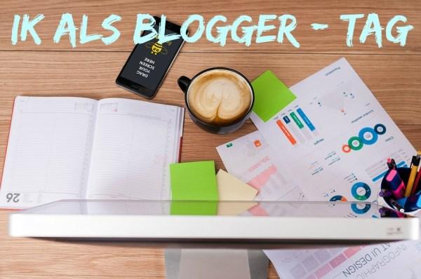 ik als blogger tag tekst