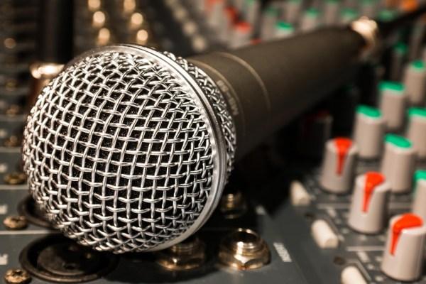 zingen microfoon