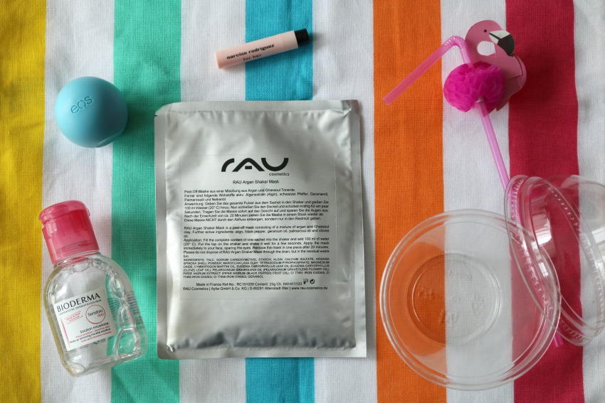 Review: RAU Argan Shaker Mask – Peel-Off-masker van Argan en Ghassoul klei