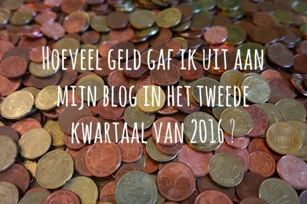 hoeveel geld kost bloggen