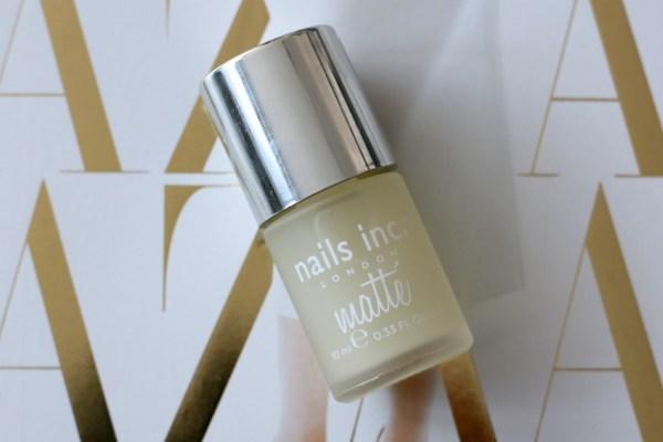 review unboxing inhoud styletone box juli 2016 nails inc matte top coat
