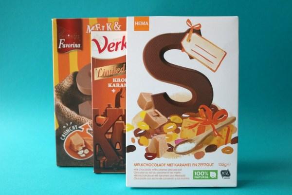 karamel-en-zeezout-chocoladeletter-hema-lekker-review