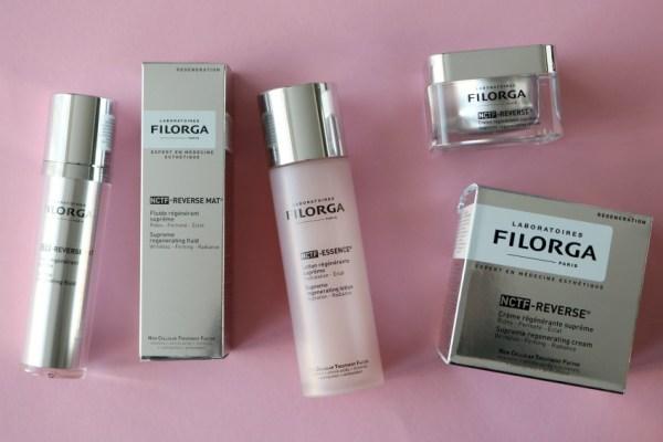 Review ervaringen FILORGA NCTF-REVERSE® (New Cellular Treatment Factor) skincare