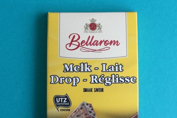 lidl melk drop chocolade bellarom chocolade met drop