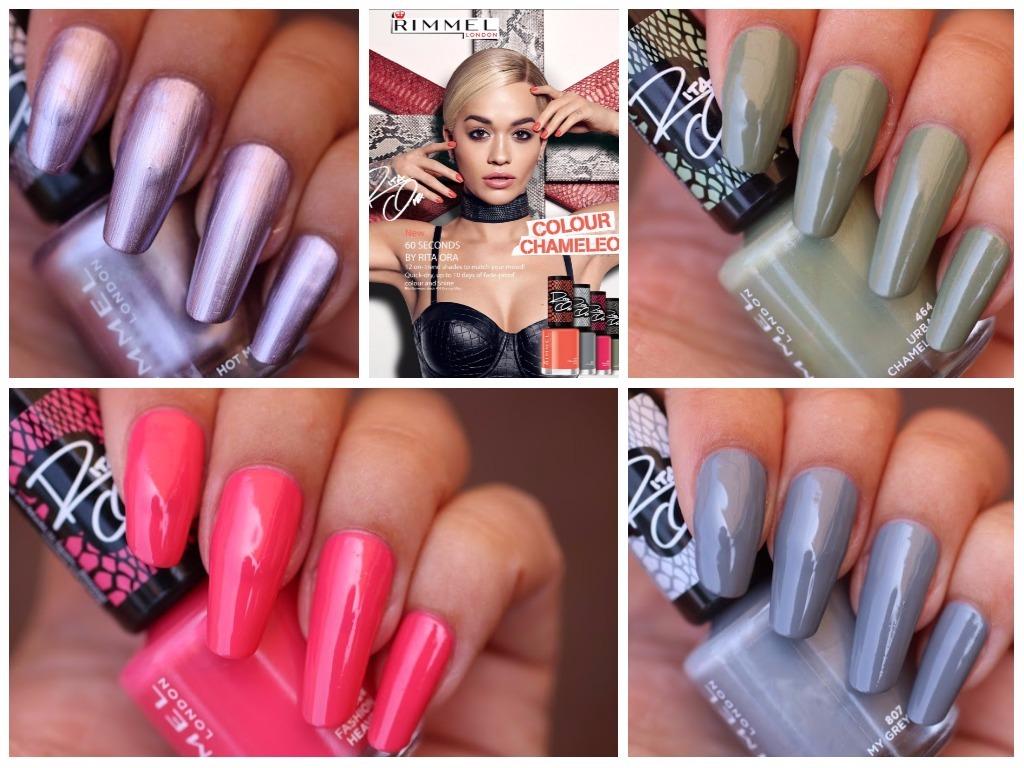Review: Rimmel 60 Seconds Super Shine Chameleon Colour Collection by Rita Ora