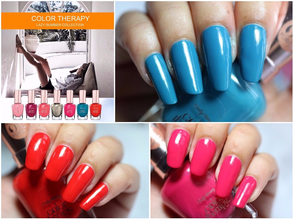 Review: Sally Hansen Color Therapy – Lazy Summer Collection