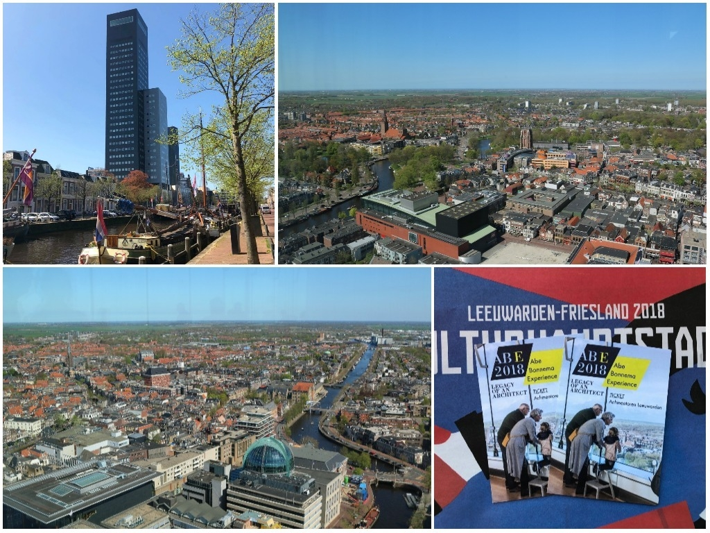 Uitstapje: Abe Bonnema Experience – Achmeatoren Leeuwarden beklimmen