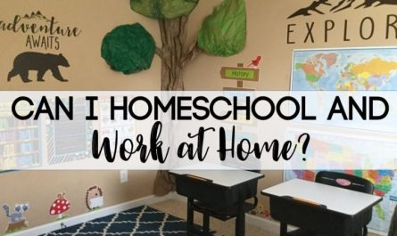 Homeschool Working at Home