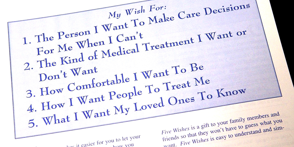 5 Wishes Advance Directive
