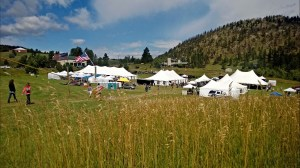The Richard Schmid Fine Art Auction, held Sunday, Aug. 31, fund raised to benefit the Rist Canyon Volunteer Fire Department in a meadow at the base of RCVFD's Station 1.